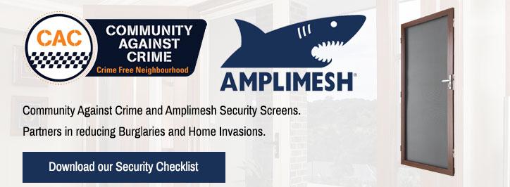 Amplimesh® Security Screens